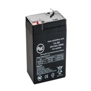 Universal Power 6 Volt 4.5 Ah (UB645) 6V 4.5Ah Alarm Battery - This is an AJC Brand Replacement