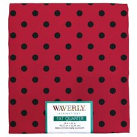"Waverly Inspiration Fat Quarter 100% Cotton, Dot Print Fabric, Quilting Fabric, Craft fabric, 18"" by 21"", 140 GSM"