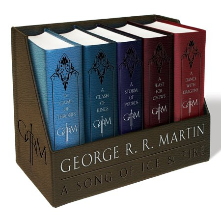 Game of Thrones Leather-Cloth Boxed Set (Song of Ice and Fire Series) - Halloween Movie Series Box Set