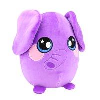 "Squeezamals, 8"" Plush, Elephant - Super-Squishy Foam Stuffed Animal! Squishy, Squeezable, Cute, Soft, Adorable!"