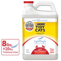Tidy Cats LightWeight 24/7 Performance for Multiple Cats Clumping Dust Free Cat Litter - 8.5 lb. Jug