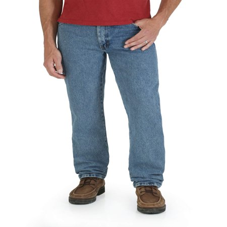 Big Men's Regular Fit Straight-Leg Jeans - Firefly Denim