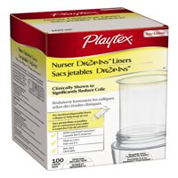 3 Pack - Playtex Drop-Ins Pre-Sterilized Diposable Liners, 4oz 100 per Package