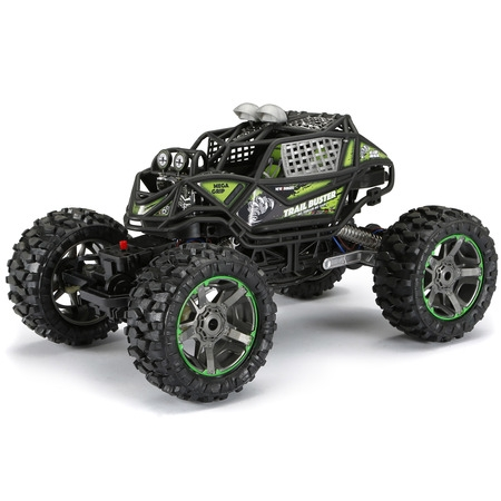 New Bright RC 1:10 Scale 4x4 Radio Control Trail Buster ()