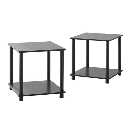 Mainstays No Tools 2 X 1 Cube, Multiple - Living Room Square End Table