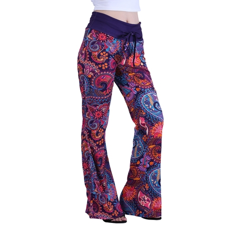 HDE Women's and Women's Plus Cotton Pajama Pants Wide Leg Sleepwear Casual Loose Lounge PJ Bottoms - Pirate Pants Womens