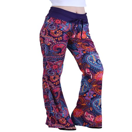 HDE Womens Cotton Pajama Pants Wide Leg Sleepwear Casual Loose Lounge PJ Bottoms ()