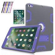 "New iPad 9.7""Case, Mignova Heavy Duty rugged Hybrid Protective Case with Build In"