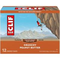 CLIF Bar® Crunchy Peanut Butter Energy Bars 12-2.4 oz. Bars