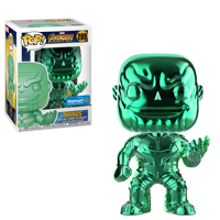Funko POP Marvel: Infinity War - Thanos - Green Chrome - Walmart Exclusive