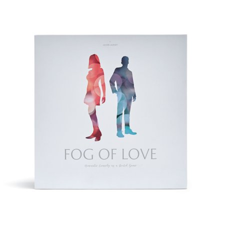 Fog of Love Board Game- Exclusively Sold on Walmart.com Male/Female Cover - Adult Carnival Games