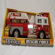 Tonka Rescue Force Lights and Sounds 12-inch Ladder Truck - Fire Dept 82