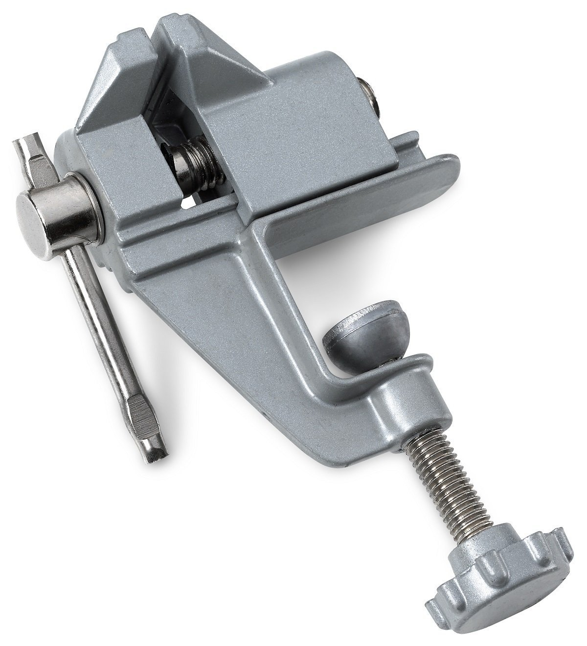 "3.5/"" Aluminum Miniature Jewelers Hobby Clamp On Table Bench Vise Mini Tool Vice"