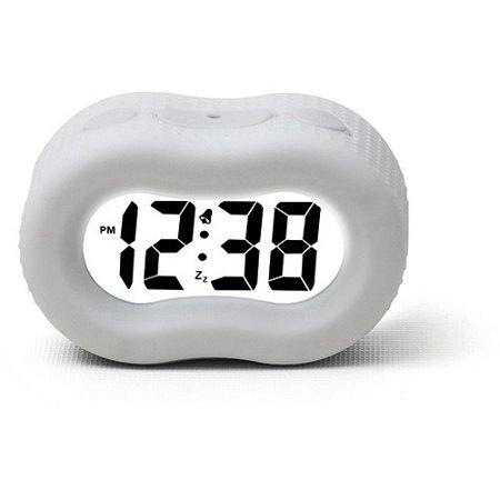 Cordless Telephone Alarm Clock (Timelink Rubber Fashion Alarm)