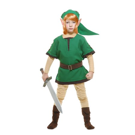 Halloween Elf Warrior Toddler Costume - Elf Makeup Tutorial Halloween