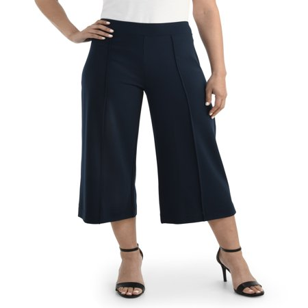 Women's Wide-Leg Crop Pant, Available in Sizes up to (Crop Pants Suit)