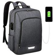 Vbiger 17 Inch Laptop Backpack College School Computer Bag Anti-Theft Slim  Travel Business Backpack 885ee89d8b