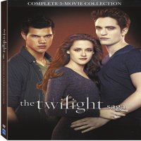 The Twilight Saga: 5 Movie Collection (DVD)