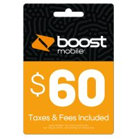 Boost Mobile $60 (Email Delivery)