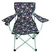 Ozark Trail Llama Children's Camping Folding Quad Chair