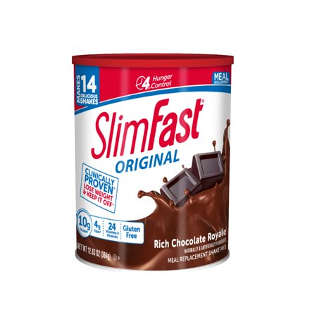 SlimFast Original Meal Replacement Shake Mix, 12.83 Oz (Select Flavor)