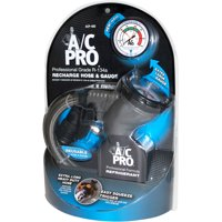 A/C Pro R-134A Professional Grade Recharge Hose and Gauge