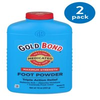 GOLD BOND Maximum Strength Medicated Foot Powder, 10oz