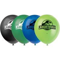"(3 pack) 12"" Latex Jurassic World Balloons, 8ct"
