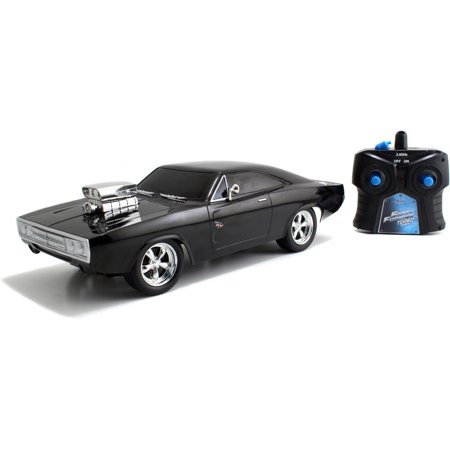 Diecast Car Radio Remote Control (Jada Toys Fast and Furious 1:16 Radio Control Car, Dom's Charger R/T )