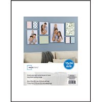 """Mainstays 11"""" x 14"""" Format Picture Frame, Black"""