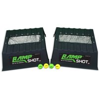 "RampShot Game Set- ""Cornhole on Steroids,"" Great for Families, Yard, Beach, Tailgate, Camping - Includes 2 Ramps, 4 Balls, 2 Stickers, 2 Nets, and Instructions"