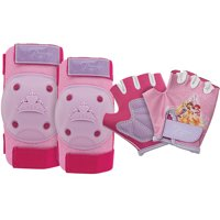Bell Sports Disney Princess Protective Pad and Glove Set