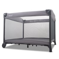 Joovy Room2 Infant Playard - Graphite Charcoal