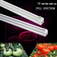 "Full Spectrum 24"" Led Grow Light T8 Indoor Greenhouse Plant Growing Tube 2ft"