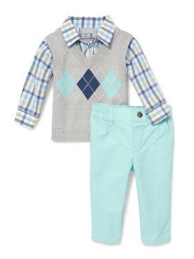 Argyle Sweater Vest Pant Set (Baby Boys)