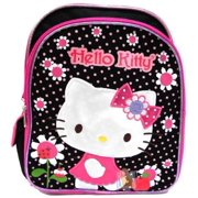 da8cfdac77ac Small Backpack - Hello Kitty - Flowers Black Pink 12