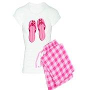 CafePress - Pink Flip Flops - Women's Light Pajamas