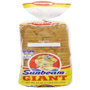 Sunbeam Giant White Bread, 24 oz