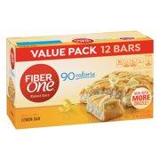 Fiber One 90 Calorie Soft-Baked Bar Lemon Bar 12 Fiber Bars 10.6 oz