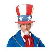 022494191698 Uncle Sam Adult Top Hat