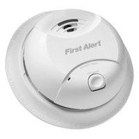 First Alert 0827B White 10 Year Ionization Smoke Alarm