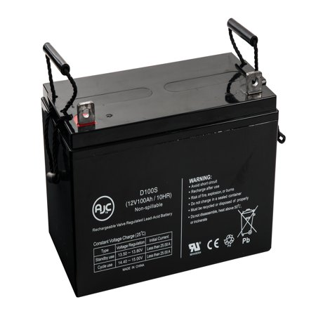 Panasonic LCR12V100AP 12V 100Ah Wheelchair Battery - This is an AJC Brand Replacement 12v Nimh Rc Battery
