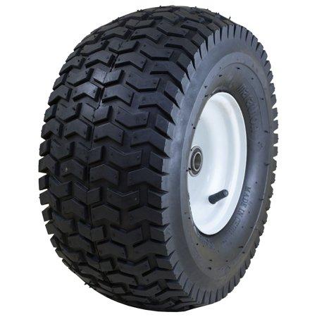 "Marathon Industries 20346 15 x 6.50-6"" Pneumatic Turf Lawn Mower Tire"