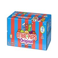 Otter Pops Freezer Bars Assorted Favors, 1.5 Fl. Oz., 80 Count