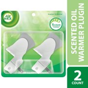 (3 pack) Air Wick Scented Oil Warmer Plugin Air Freshener, White, 2ct