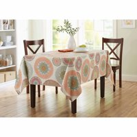 Better Homes and Gardens Lace Medallion Tablecloth, Available in Multiple Sizes