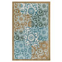 Better Homes & Gardens Peony Blocks Textured Print Area Rug or Runner