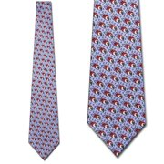 fe6833d371f Jimmy V Foundation-Super Mario (Blue) Necktie Mens