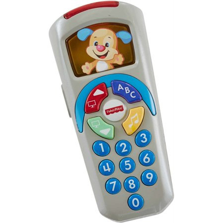 Fisher-Price Laugh & Learn Puppy's Remote with Light-up (Best Fisher Price Toys For 2 Year Old)
