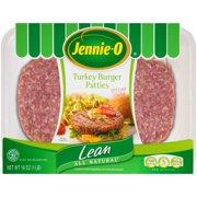 Jennie-O Fresh Turkey Burger Patties, 4 ct, 1.0 lb